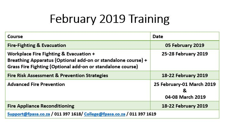 Feb 2019 training image